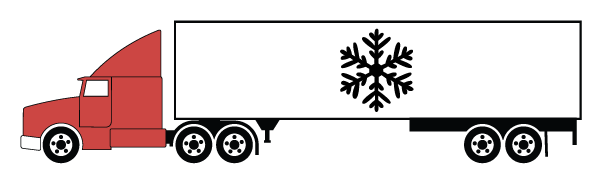 Reefer Truck Icon